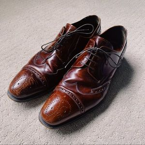 Prada Leather Derby Dress Shoes